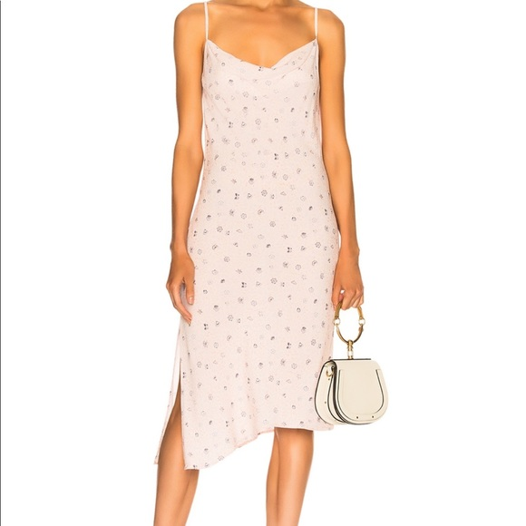 Ag Adriano Goldschmied Dresses & Skirts - AG Floral Midi Slip Dress (Pink)